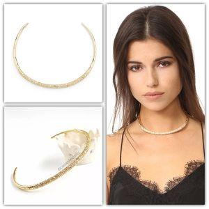 Alexis Bittar Crystal Encrusted Collar Necklace